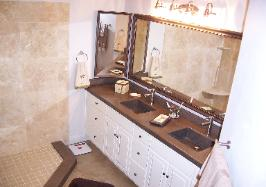 Custom concrete bathroom vanity, vero beach custome concrete counter for bath  merrtt sland custom concrete vanty