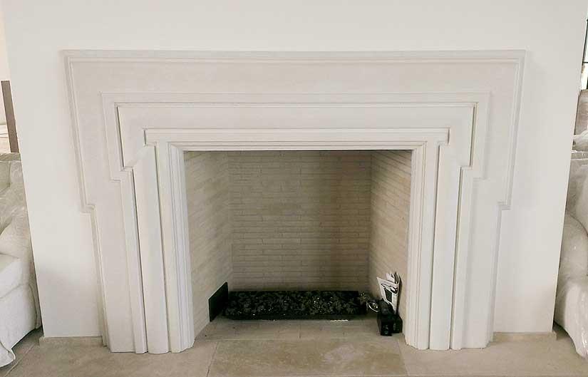 Concrete Fireplace Surround 976 Jpg