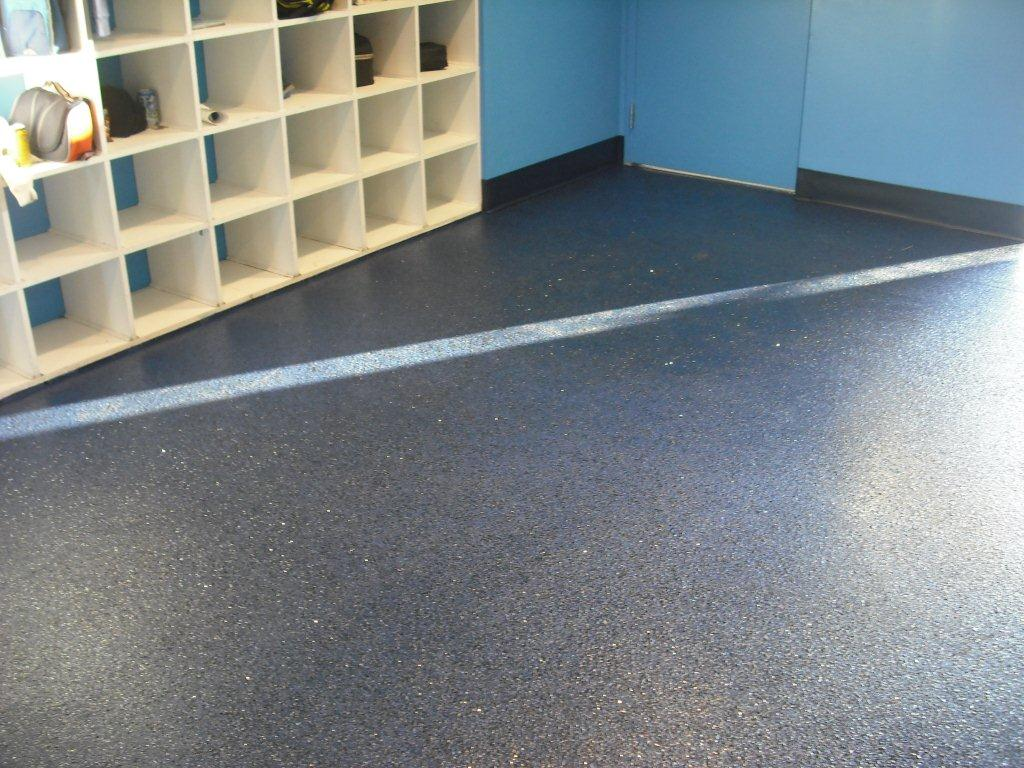 Epoxy floors for your storage area - Vero Beach
