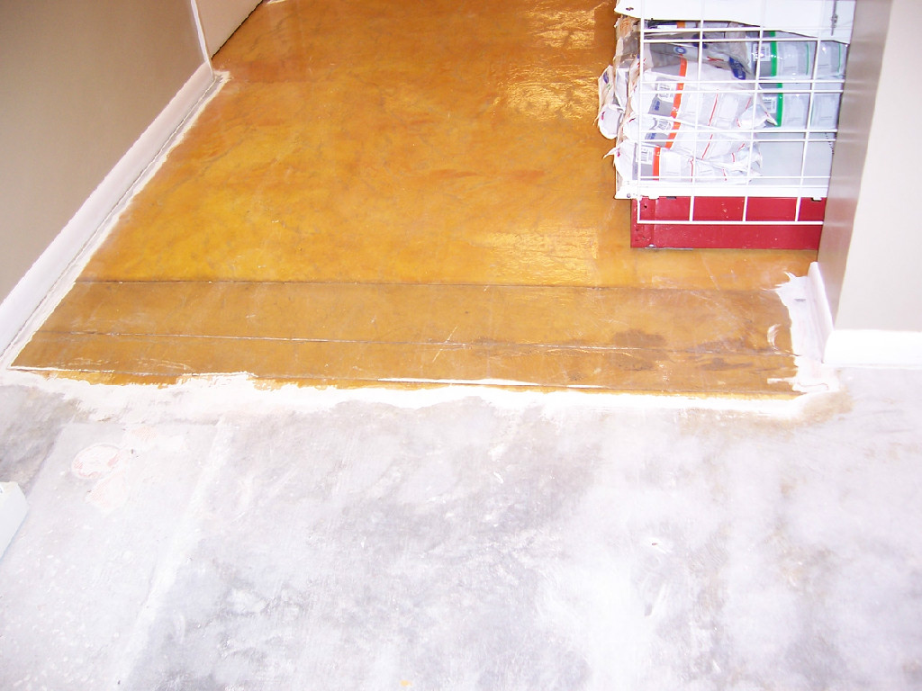 Epoxy floors repaired - Vero Beach