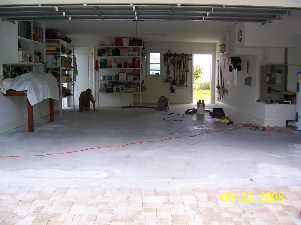 Epoxy floors for your shop - Vero Beach