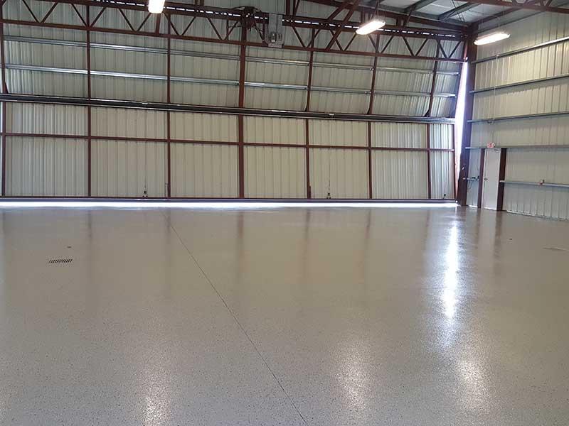 Epoxy Aircraft Hanger Floor Coating Vero Beach